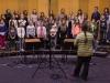 Pevski zbor - snemanje na RTV